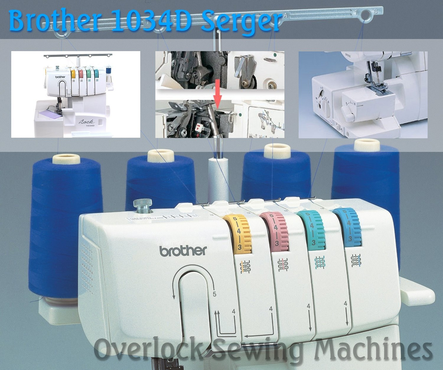 Brother 1034D 3 or 4 Thread Serger (Image: Amazon)