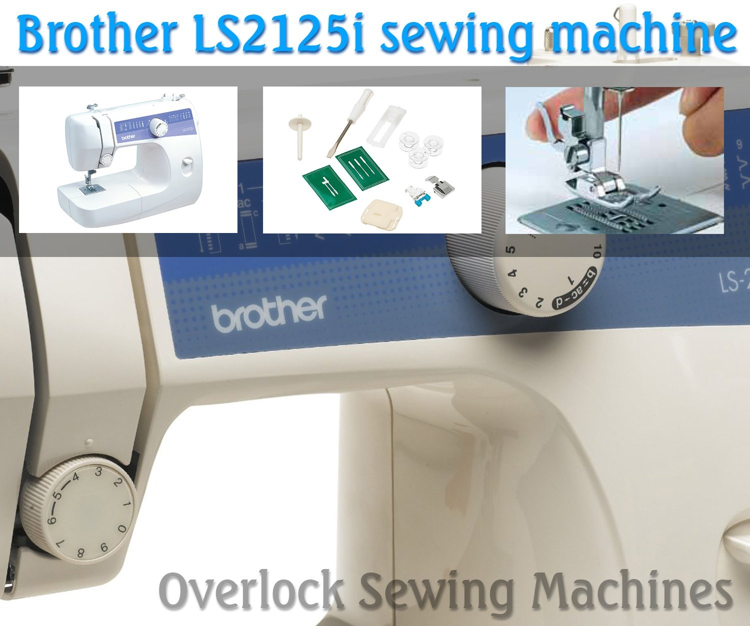 Brother LS2125i sewing machine (Image: amazon)