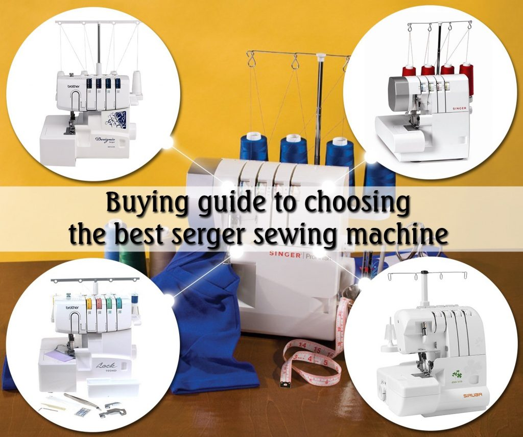 Buying guide to choosing the best serger sewing machine (Image: Amazon)