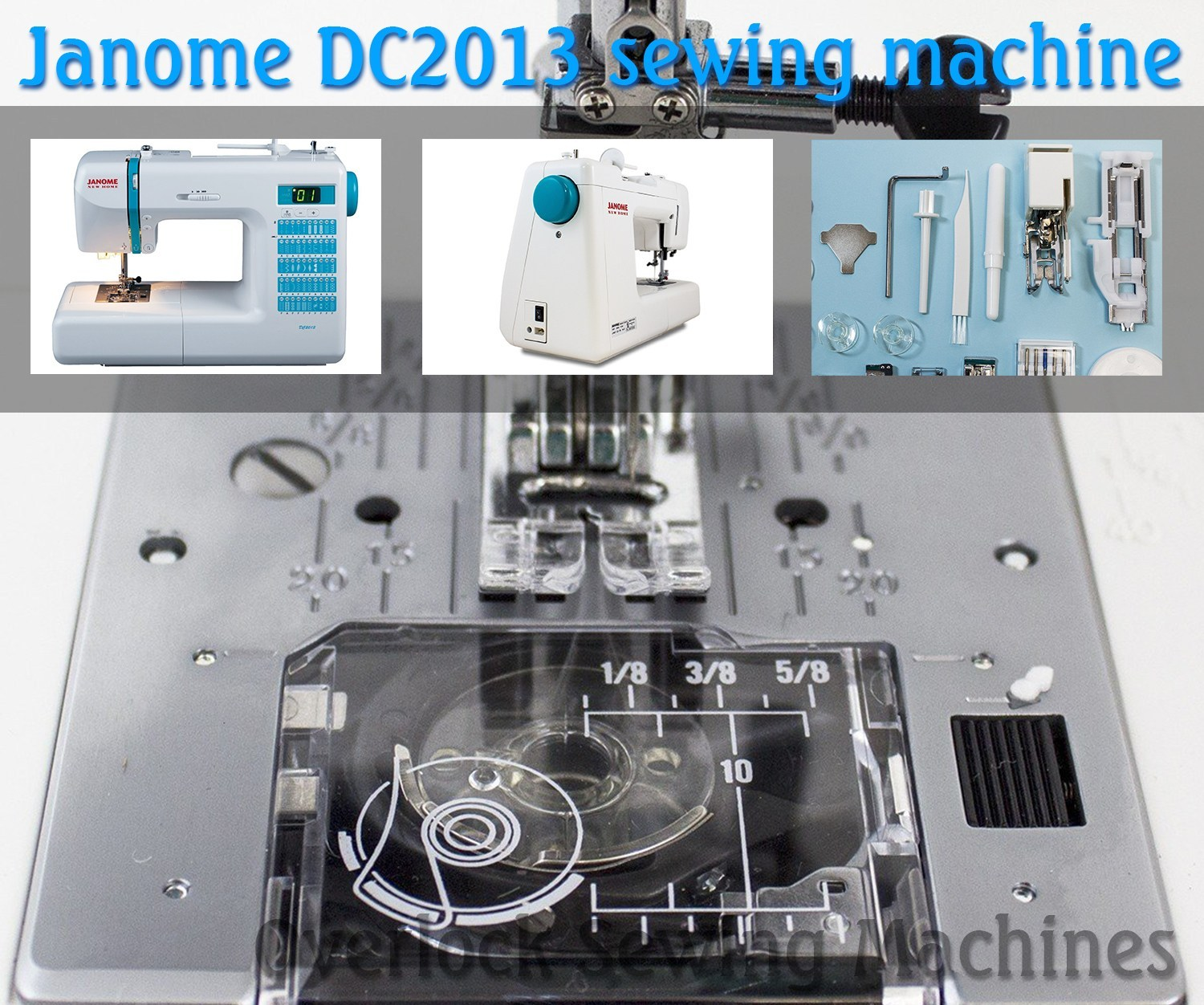 Review on Janome computerized sewing machine DC2013 (Image: amazon)