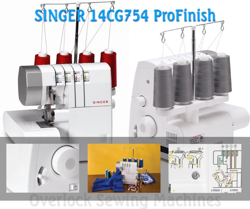 SINGER 14CG754 ProFinish 2-3-4 thread serger (Image: Amazon)