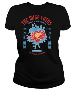 The wise lotus. Famous Zen Buddhism temple resort in Osaka T Shirt